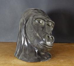 Sculpture en bronze patiné