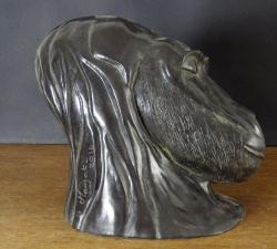 mauzat marc                                 titre n°133 go2  b5                      année 2014  bronze patiné         h 21 cm. l 18 cm. pr26 cm (3)_web